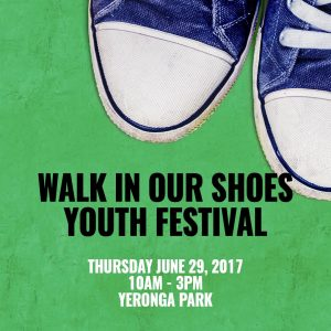 Walk In Our Shoes Youth Festival @ Yeronga Memorial Park. | Yeerongpilly | Queensland | Australia