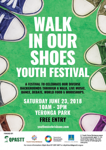 Walk In Our Shoes Youth Festival 2018 @ Yeronga Memorial Park.  | Yeerongpilly | Queensland | Australia